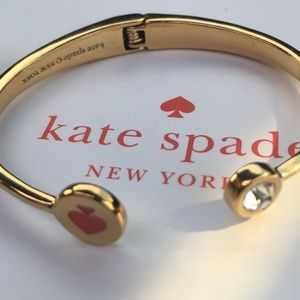 Authentic NWT Spot the Spade bangle